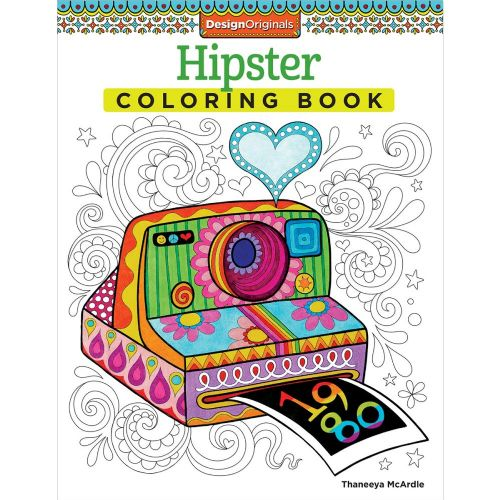 Hipster Colouring Book